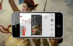 L'application Louvre Lens pour smartphone